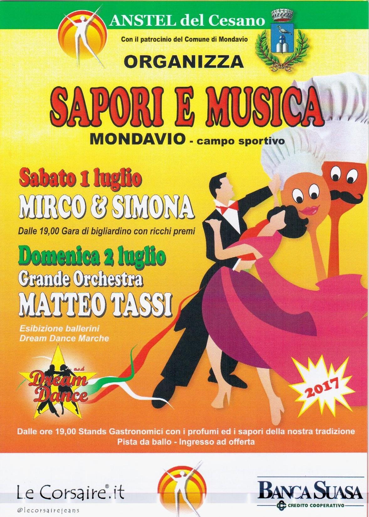 Sapori E Musica 2017