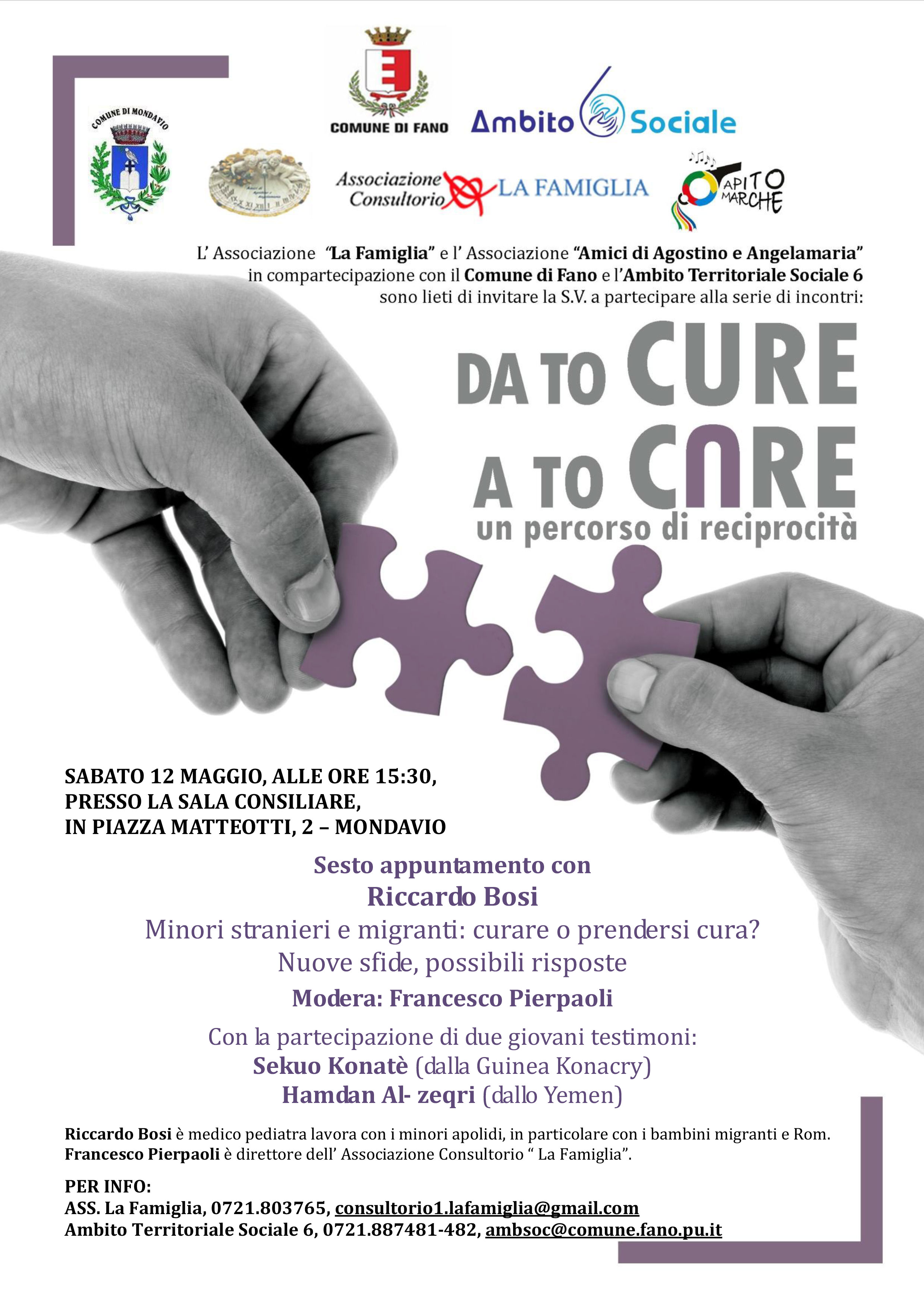 Da To Cure A To Care 🗓 🗺