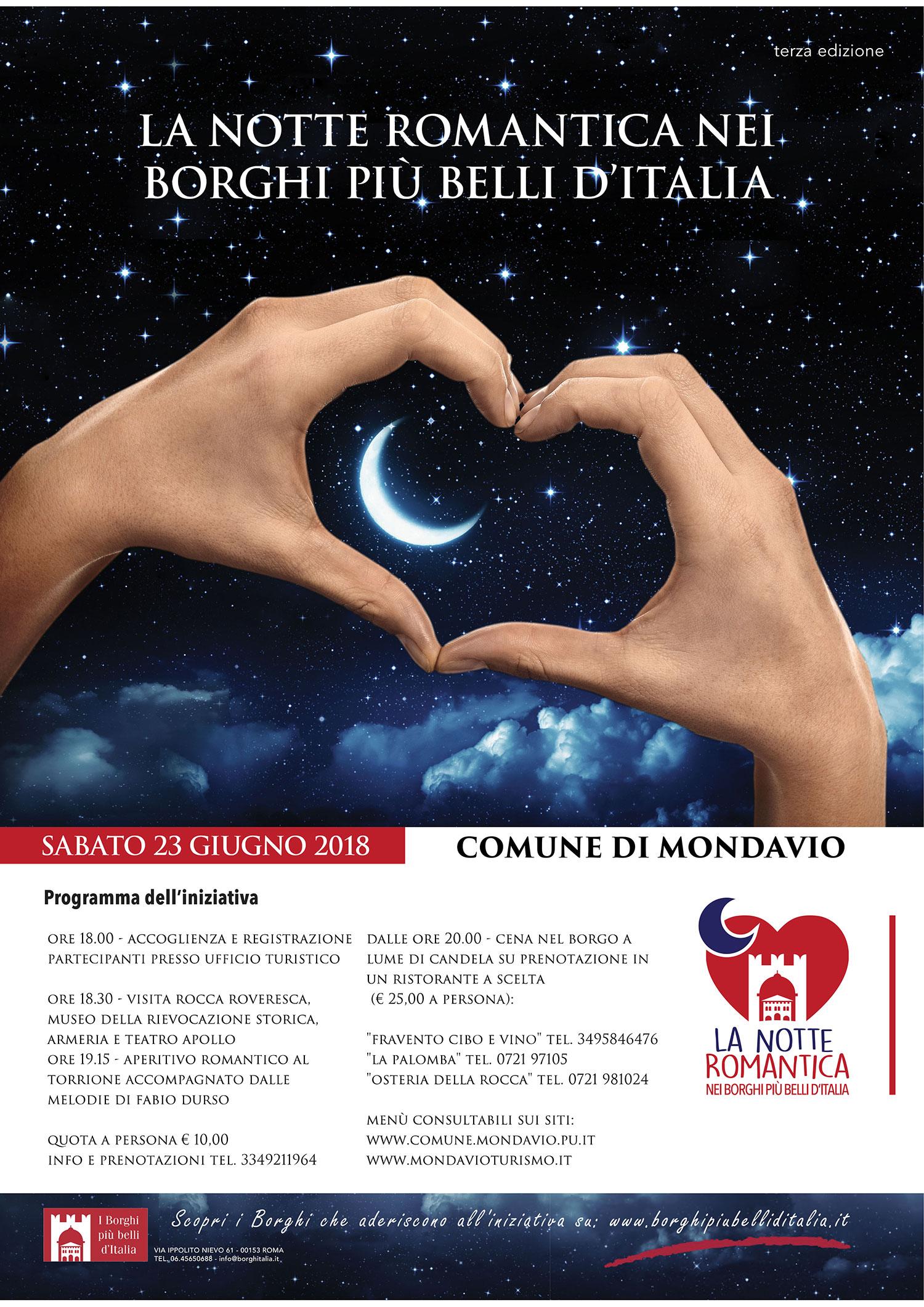 La Notte Romantica Nei Borghi Più Belli D'Italia 🗓