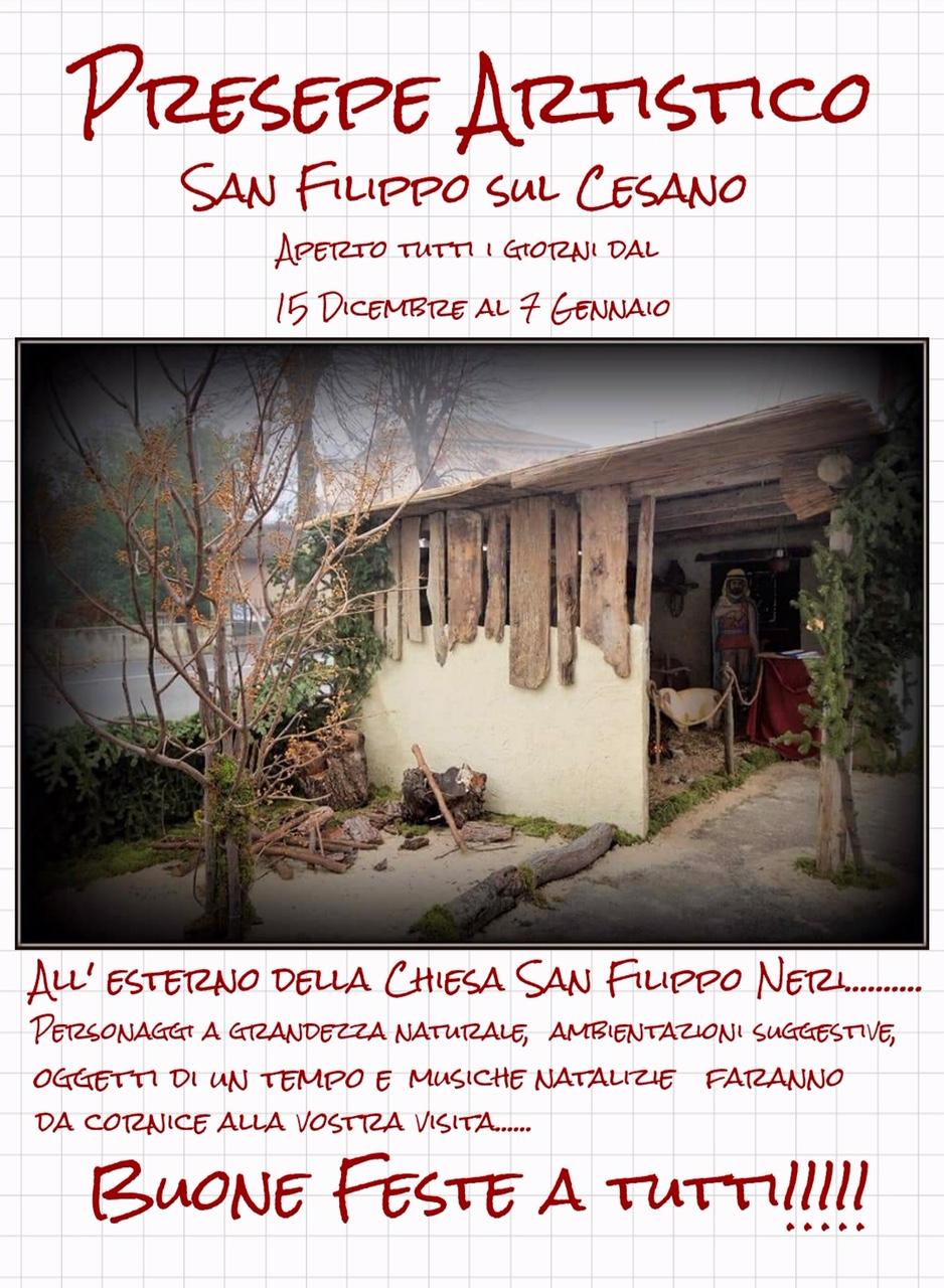 Presepe Artistico San Filippo Sul Cesano 🗓